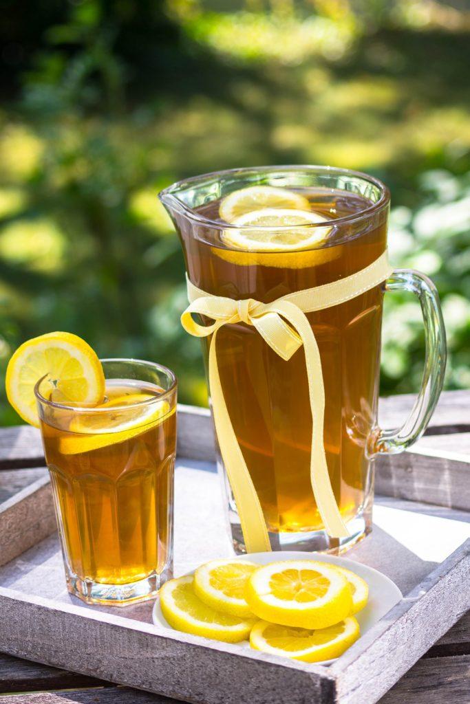 Ferahlatıcı Buzlu Çay
